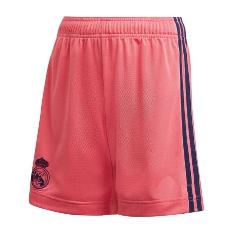 Гостевая форма Реал Мадрид 2020-2021 c длинными рукавами шорты