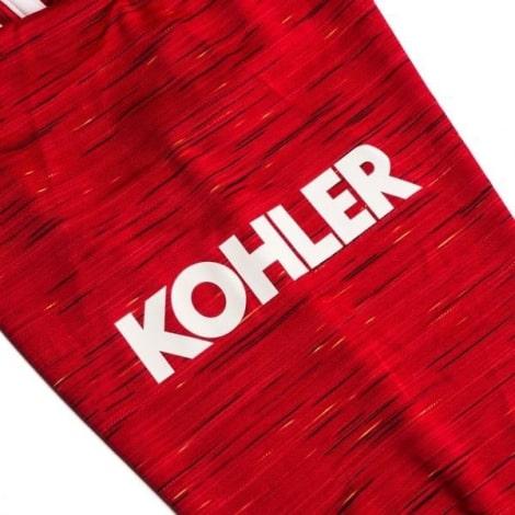 Домашняя форма Ман Юн 2020-2021 c длинными рукавами футболка спонсор на рукаве