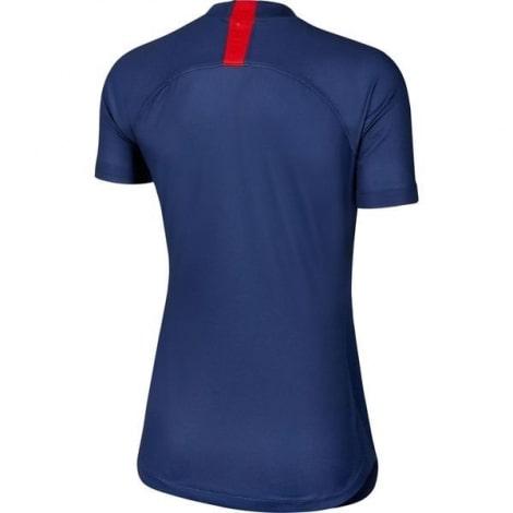 Женская домашняя футболка ПСЖ 2019-2020 сзади