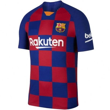 Детская домашняя футбольная форма Месси 2019-2020 футболка спереди