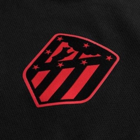 Взрослый комплект гостевой формы Атлетико 2019-2020 герб клуба