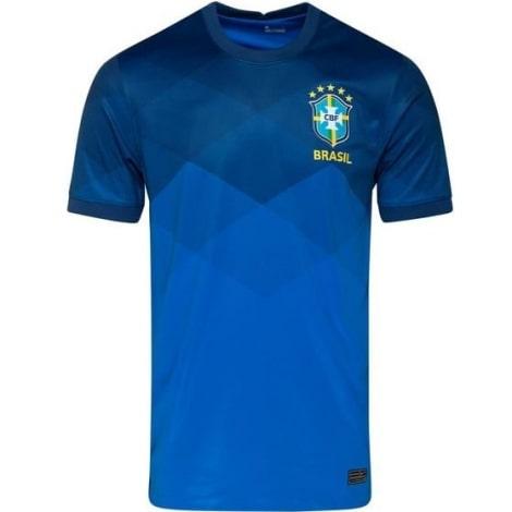 Детская гостевая форма Бразилии 2020-2021 футболка