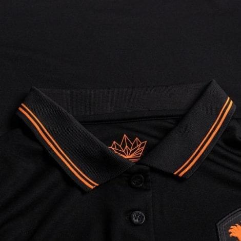 Женская гостевая футболка Голландии на Чемпионат Европы 2020-21 воротник