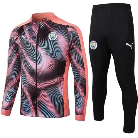 Взрослый черно-розовый костюм Ман Сити 2019-2020