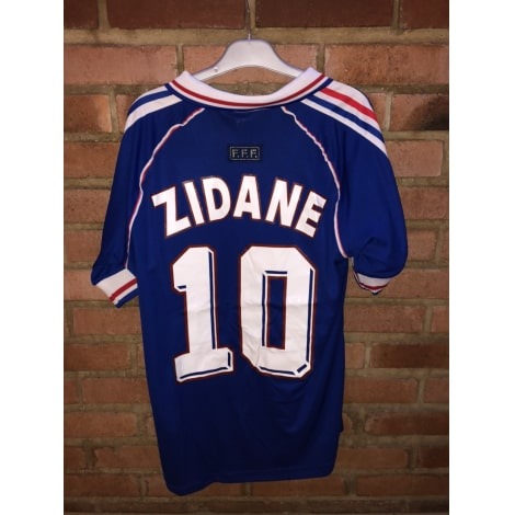 Домашняя футболка сборной Франции на чемпионат мира 1998 ZIDANE 10