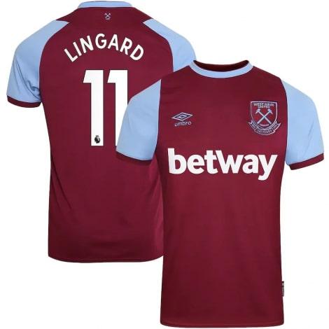 Домашняя футболка Вест Хэм 2020-2021 Джесси Лингард