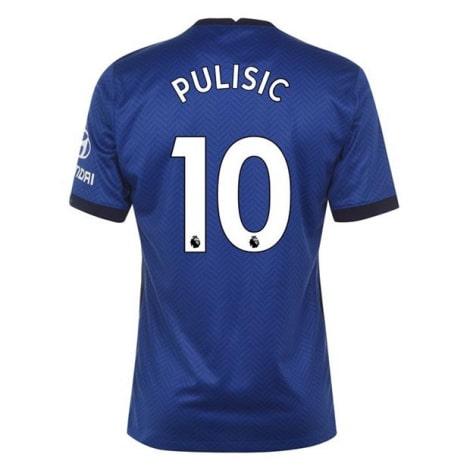 Домашняя игровая футболка Челси 2020-2021 Кристиан Пулишич