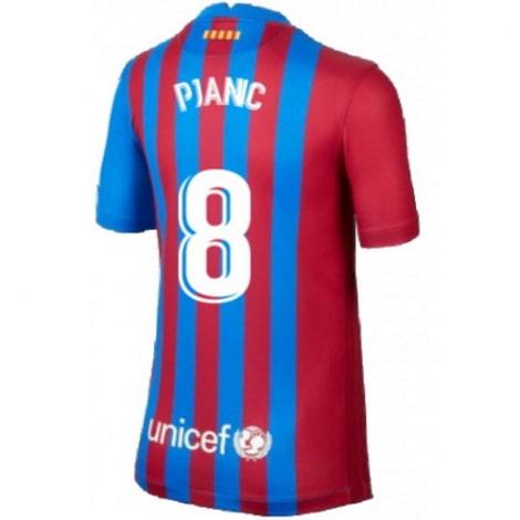Домашняя футболка Барселоны 2020-2021 Пьянич