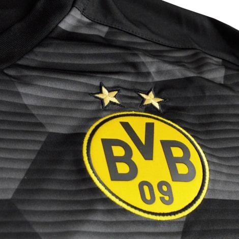 Домашняя вратарская форма Боруссии Дортмунд 2020-2021 футболка герб клуба