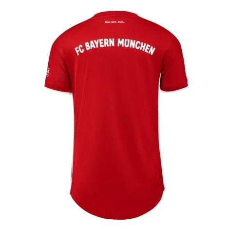 Комплект взрослой домашней формы Баварии 2020-2021 футболка сзади