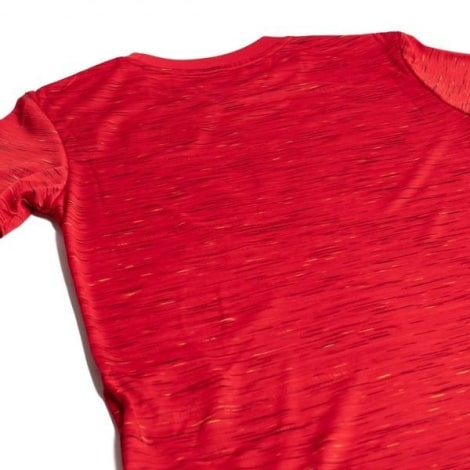 Домашняя футболка Уругвая на ЧМ 2018 вблизи