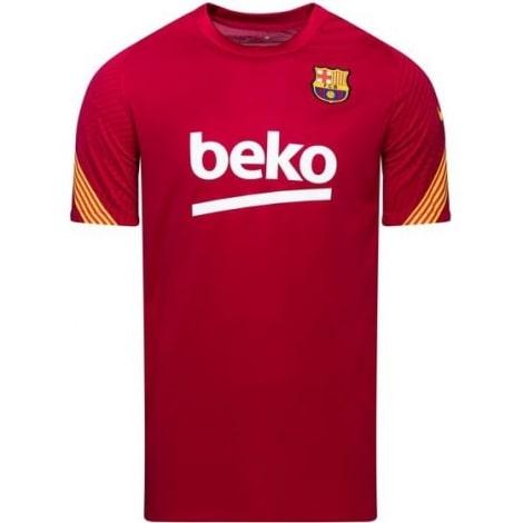 Красная тренировочная футболка Барселоны 2020-2021