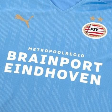 Гостевая игровая футболка ПСВ 2020-2021 титульный спонсор