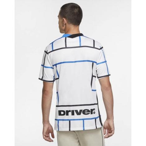 Гостевая игровая футболка Интера 2020-2021 сзади