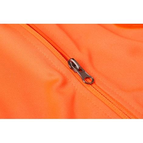 Черно оранжевый костюм сборной Голландии 2020-2021 молния
