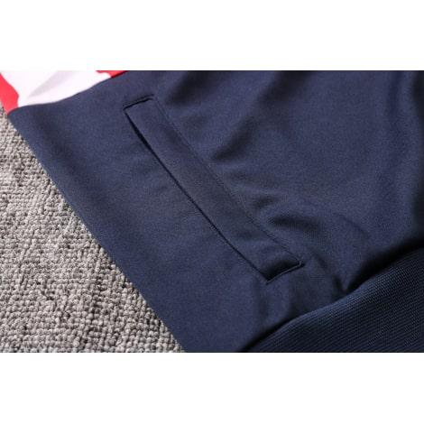 Черно-сине-красный костюм Атлетико Мадрид 2021-2022 карман