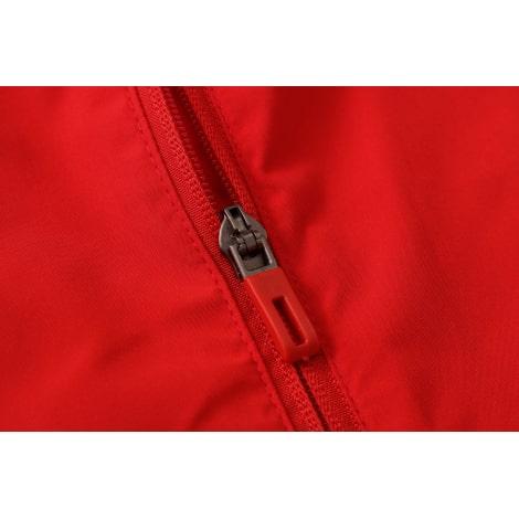 Красно-черный спортивный костюм АЯКС 2021-2022 молния