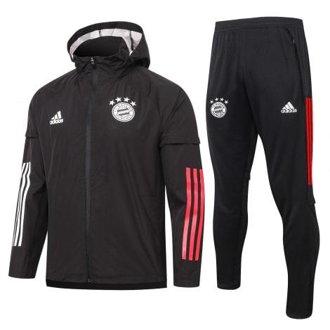 Черный спортивный костюм Баварии 2021-2022