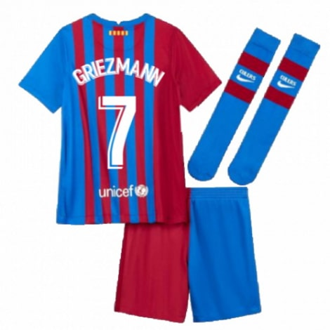 Детская домашняя футбольная форма Гризманн 2021-2022