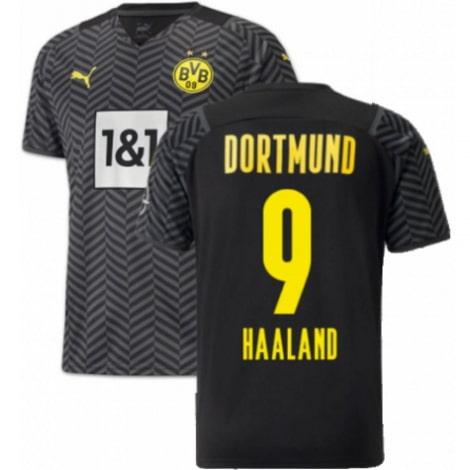 Гостевая футболка Боруссии Дортмунд 2021-2022 Холанн