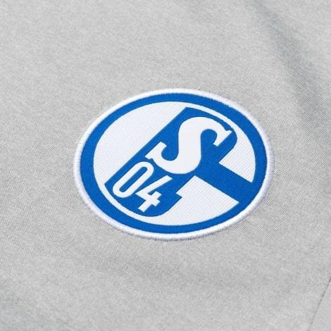 Гостевая игровая футболка Шальке 04 2018-2019 герб клуба