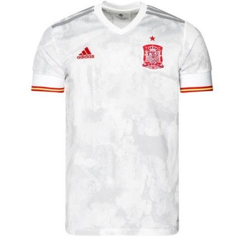 Детский комплект гостевой формы Реал Мадрид 2019-2020 футболка воротник