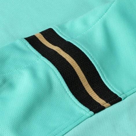 Комплект взрослой гостевой формы Интер 2019-2020 футболка воротник сзади