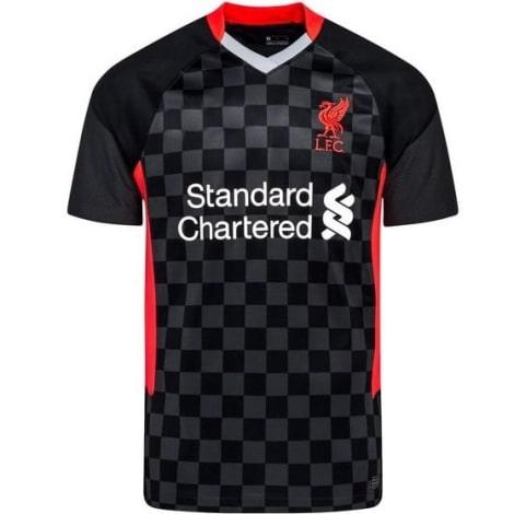 Гостевая игровая футболка Арсенала 2019-2020 титульный споноср