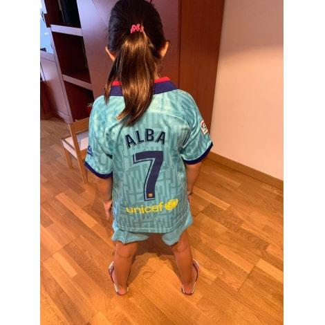 Комплект детской третьей формы Барселоны 2019-2020