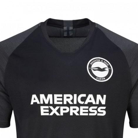 Гостевая игровая футболка Брайтон энд Хоув Альбион 2019-2020 вблизи