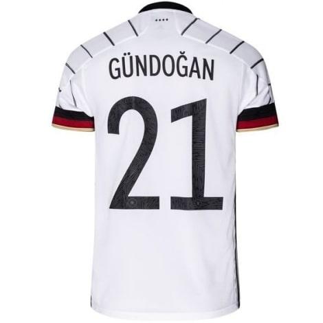 Домашняя футболка Германии Илкай Гюндоган на ЕВРО 2020