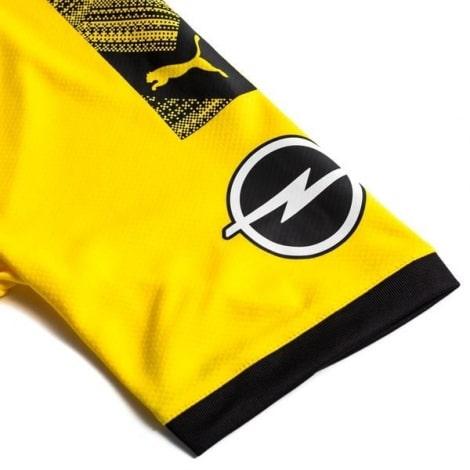 Детская домашняя форма Боруссии Холанн 2019-2020 футболка рукав