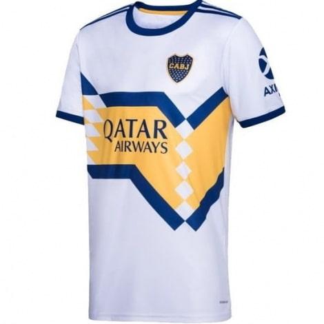 Гостевая игровая футболка Бока Хуниорс 2020-2021