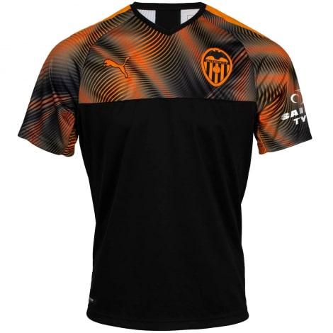 Гостевая игровая футболка Валенсия 2019-2020
