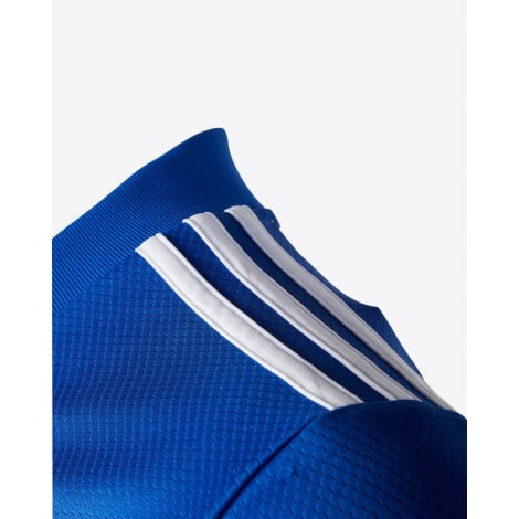Домашняя игровая футболка Лестер Сити VARDY 20-21 номер 9 плечо