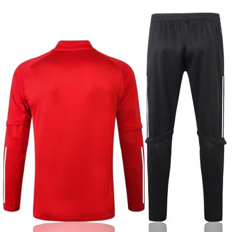 Красно-черный спортивный костюм АЯКС 2021-2022 сзади