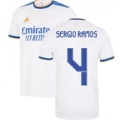 Домашняя футболка Реал Мадрид 2021-2022 Серхио Рамос