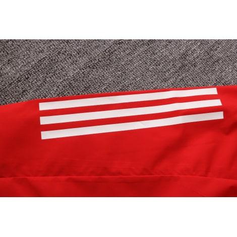 Красно-черный спортивный костюм АЯКС 2021-2022 рукав