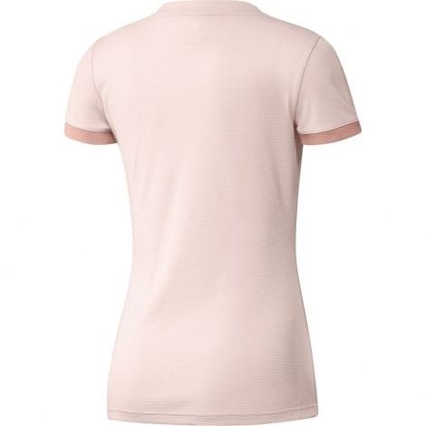 Женская гостевая футболка Манчестер Юнайтед 2018-2019 сзади
