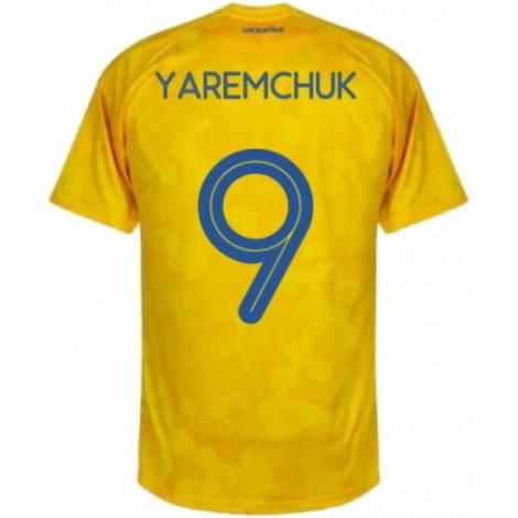 Домашняя футболка Украины Яремчук на ЕВРО 2020-21
