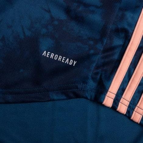 Третья аутентичная футболка Арсенала 2020-2021 сзади технология