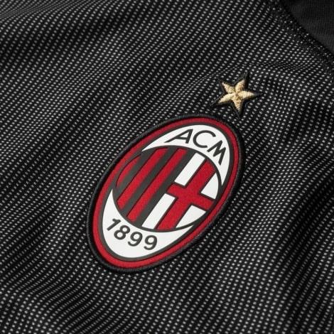 Вратарская гостевая футболка Милана 2018-2019 герб клуба