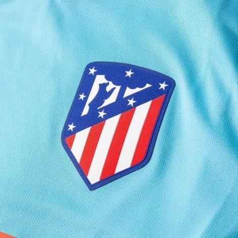 Гостевая футболка Филипе Луис 2018-2019 герб клуба