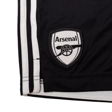 Вратарская домашняя футбольная форма Арсенала 20-21 шорты герб клуба