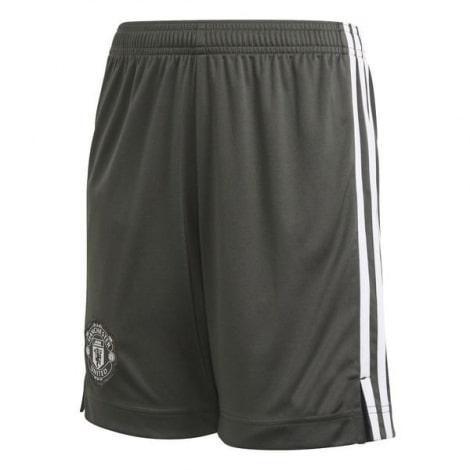 Комплект взрослой гостевой формы Ман Юнайтед 2020-2021 шорты