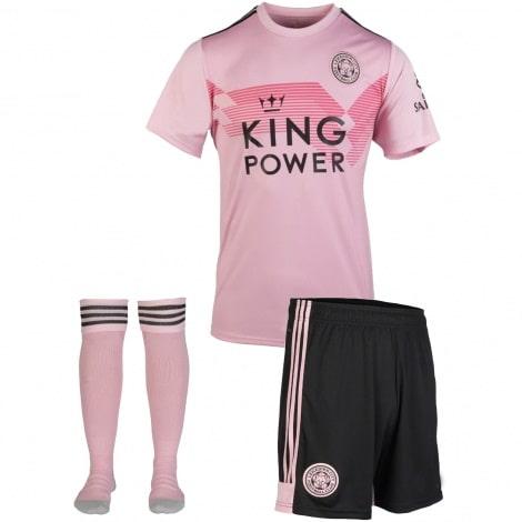 Комплект взрослой третьей формы Лестер Сити 2019-2020 футболка шорты и гетры