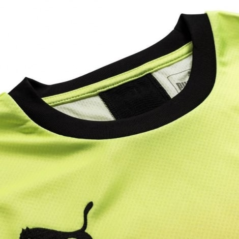 Взрослая третья форма Манчестер Сити 2019-2020 футболка воротник