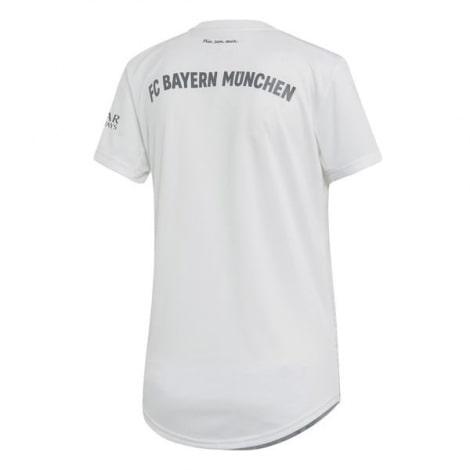 Женская гостевая футболка Баварии 2019-2020 сзади