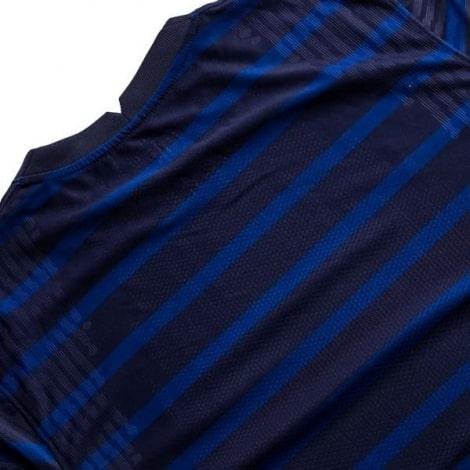 Домашняя аутентичная футболка Франции на ЕВРО 2020-21 сзади