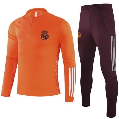Оранжевый костюм Реал Мадрид 2020-2021